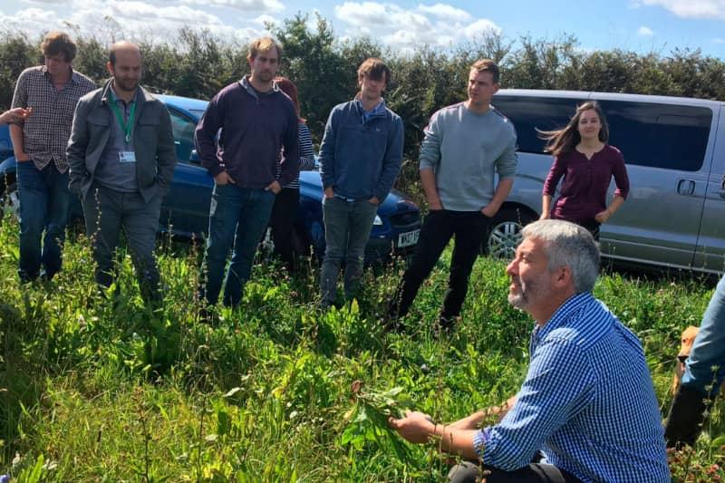 Tom Tolputt discusses Regenerative Farming with visiting scientistss