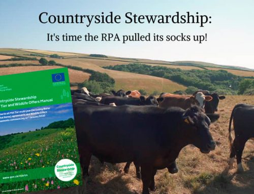 Countryside Stewardship: It's time the RPA pulled its socks up