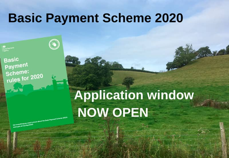 Basic Payment Scheme 2020