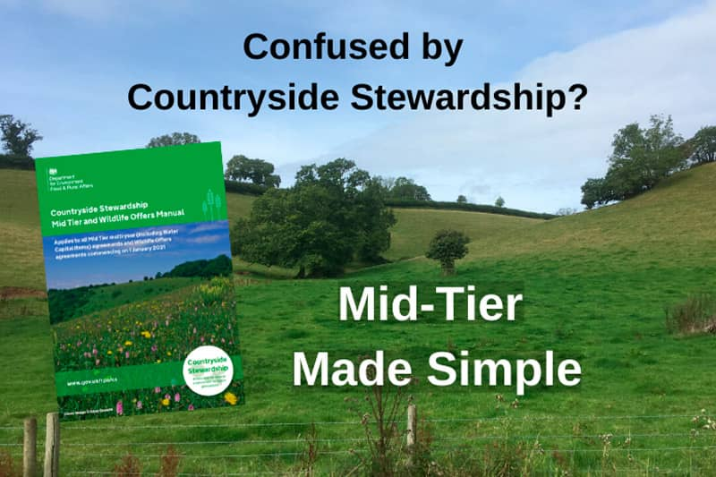 Confused by Countryside Stewardship - making the most of Mid-Tier