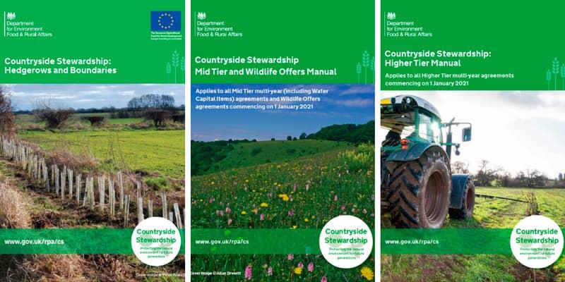 Countryside Stewardship manuals