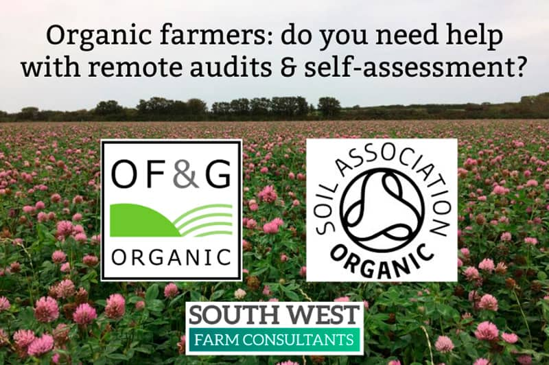 Soil Association and OF&G Suspend organic inspections
