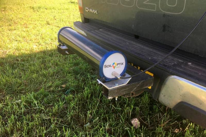 SoilOptix scanner used at the ELMS Test and Trial