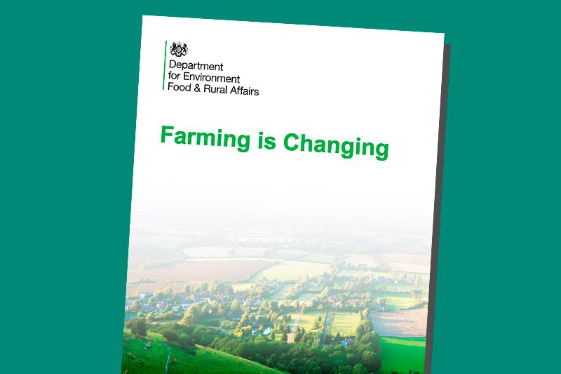 DEFRA Farming is Changing